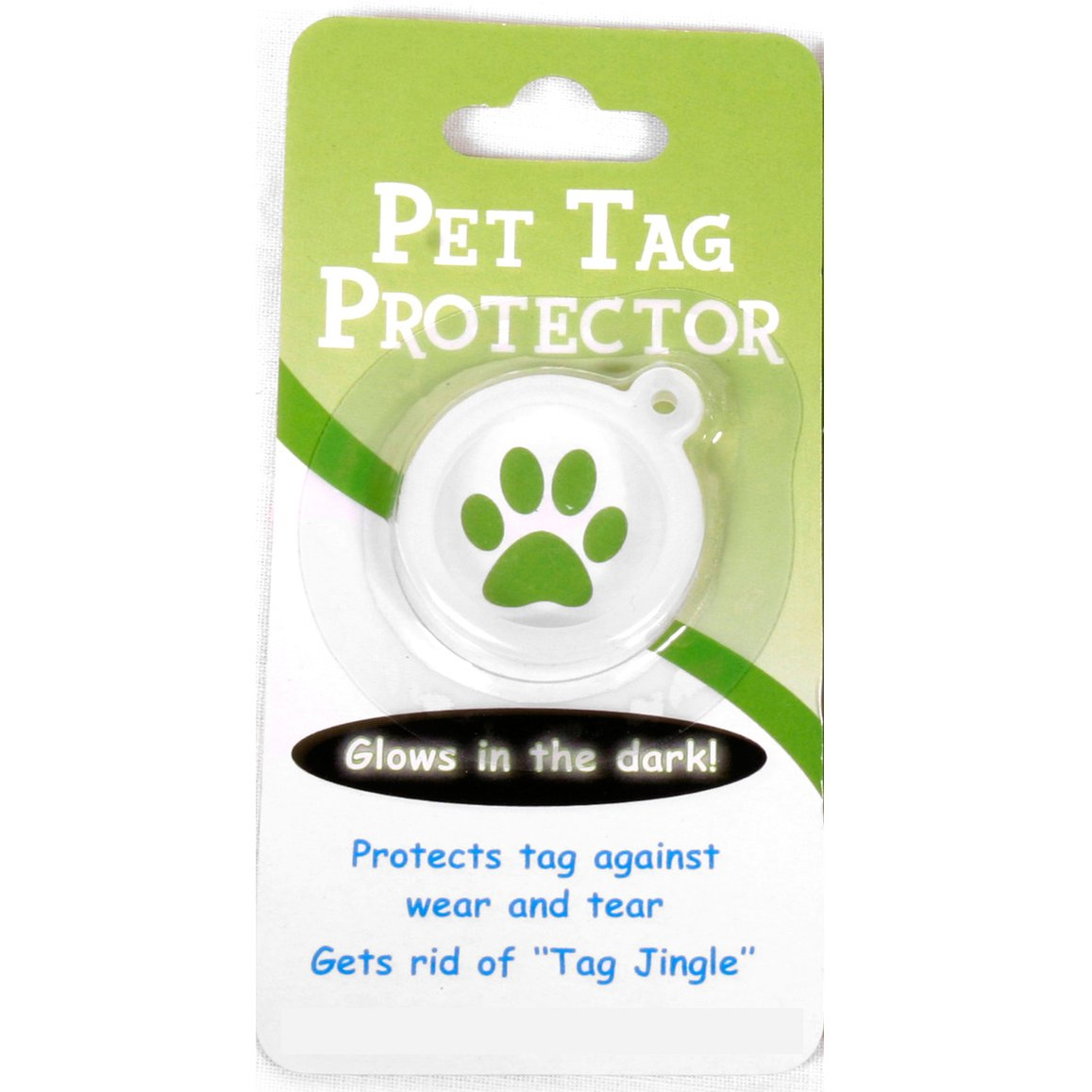 Yellow Dog Design 1.5'' Tartan Plaid Pink Personalized Hi-Def Pet ID Tag with Silencer, Large