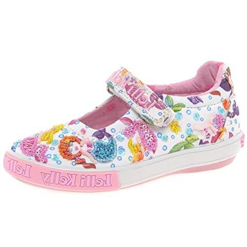 6b1aa84391549 Lelli Kelly Mermaid Dolly Girls Canvas Shoes Junior 1/33 Std Unless Stated  in Colour