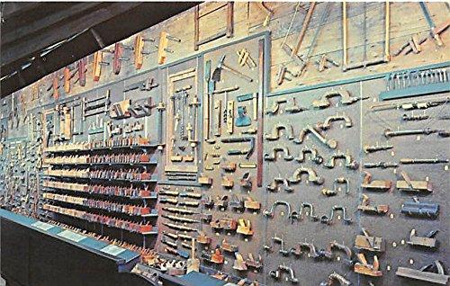 Tool Collection, Shaker Shed, Shelburne Museum Shelburne, Vermont, VT, USA Postcard