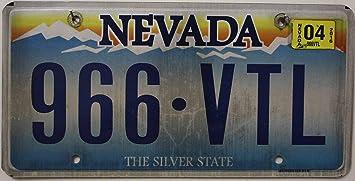 USA Nummernschild NEVADA The Silver State ~ US Kennzeichen ~ Blechschild