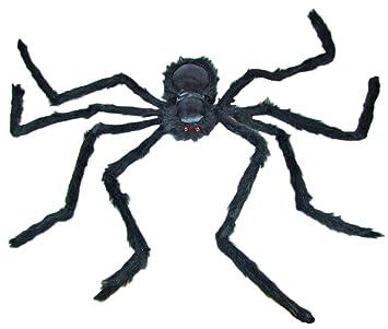 Riesenspinne Mit Roten Augen 90 Cm Gruselige Halloween Party