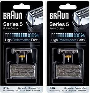 Braun 8000 Serie De 51S 5 360 Activador Completo Contourpro Lámina ...