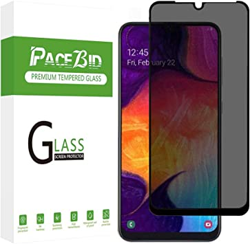 PaceBid Privacy Glass para Samsung Galaxy M20, Completamente ...