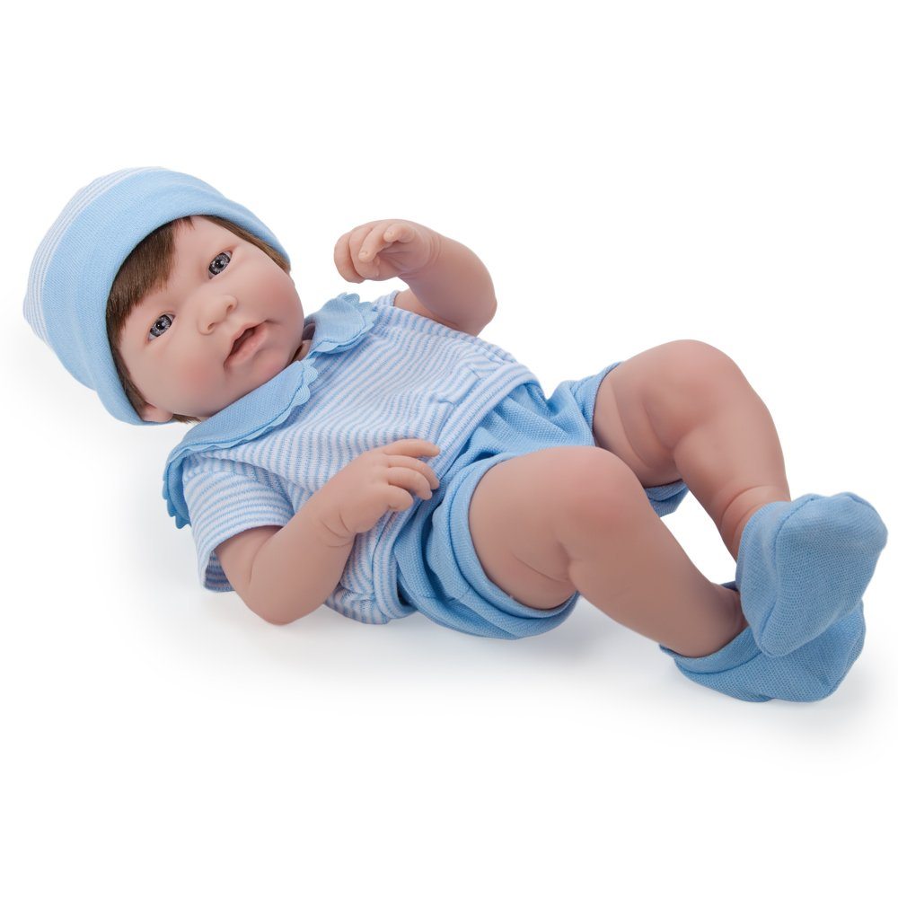 "JC Toys La Newborn Boy 17"" Baby Doll for Kid"