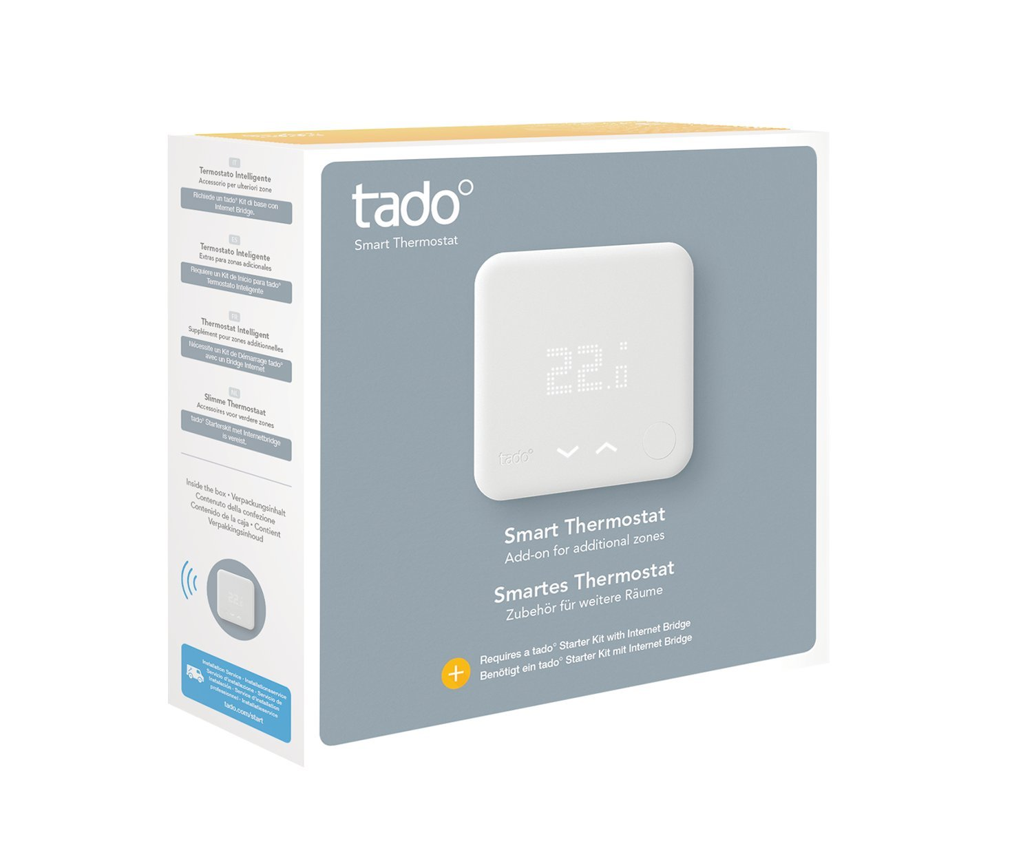 tado° additional Smart Thermostat - intelligent heating control with ...