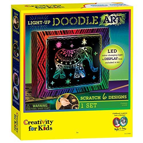 Creativity for Kids Light-Up Doodle Art Kit