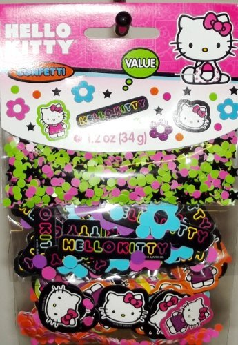 Hello Kitty 'Neon Tween' Confetti Value Pack (3 types) -