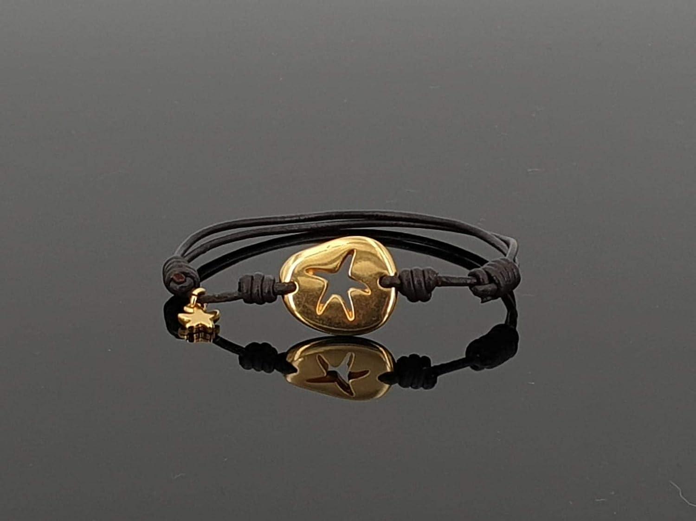 handmade boho bracelet, woman Bracelet, leather bracelet, woman bracelet, gold plated bracelet, Kukuri bracelet, leather bracelet,