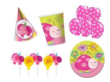Fiesta de 29 piezas Conejo elefante Party Decoración Vajilla ...