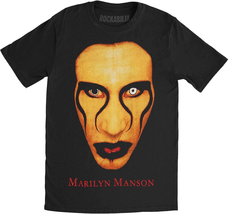 Marilyn Manson Music Star Mens T-Shirt Tee