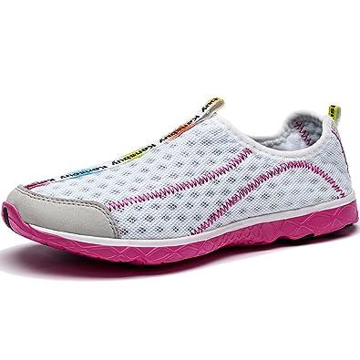 Women's Fashion Slip-On Mesh ShoesAthleticBeach AquaWading Shoes