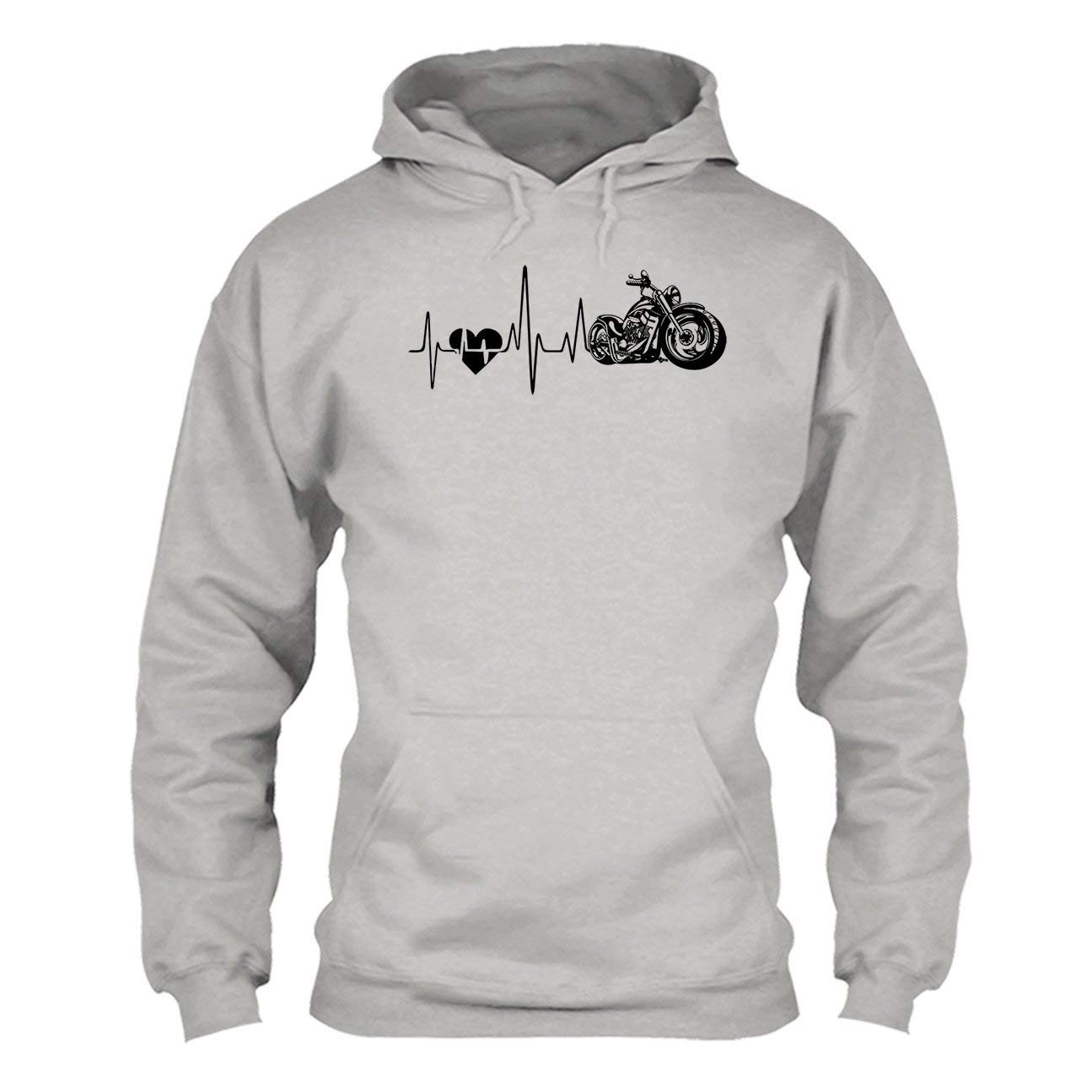 Clothing Tee Shirt Motorcycle Heartbeat Shirt
