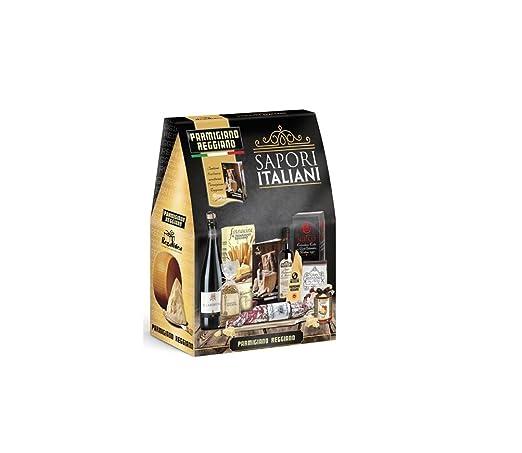 Exceptionnel Confezione Regalo Natalizia SAPORI ITALIANI REGALIDEA NC53: Amazon  NA89