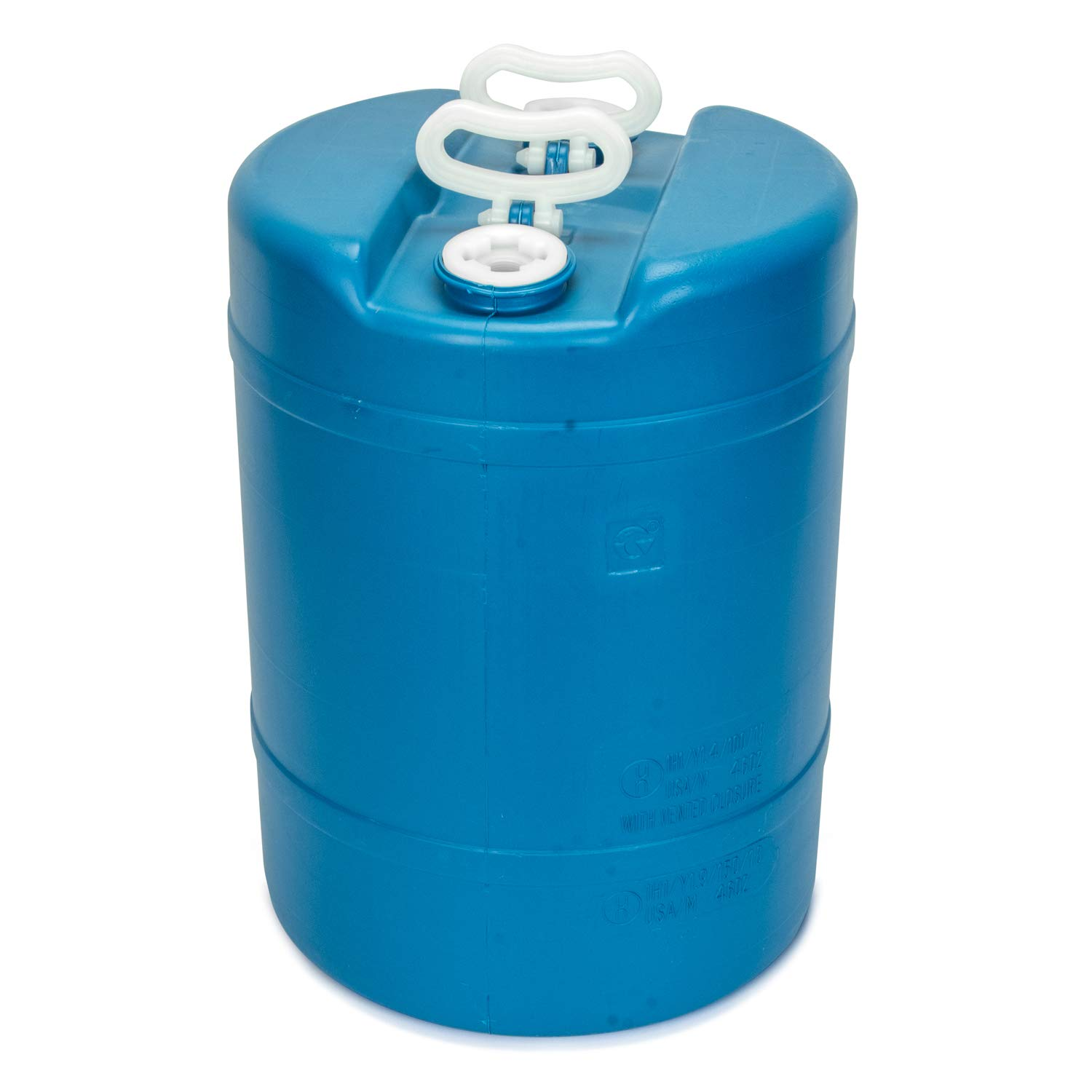15 Gallon Emergency Water Storage Barrel - 1 Tank - Preparedness Supply - Water Tank Drum Container - Portable, Reusable, BPA Free, Food Grade Plastic by Legacy Premium Food Storage