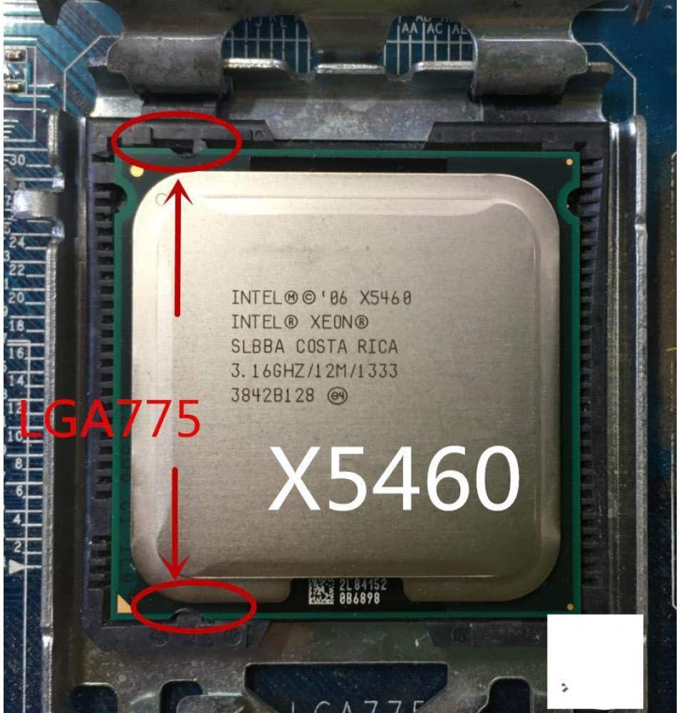 Intel Socket 775 Xeon X5460 X5460 Quad-Core 3.16GHz 12MB 1333MHz Works On LGA 775 Mainboard