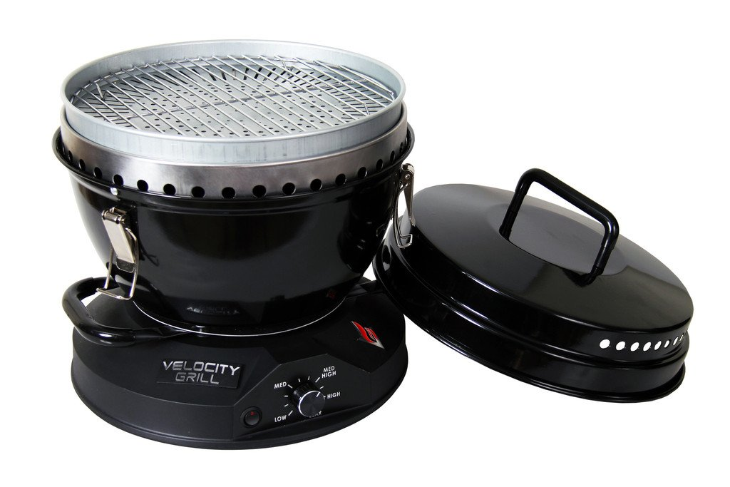 The Velocity Grill - The Original Lightweight & Blazing Hot Portable Tabletop Tailgating Grill!
