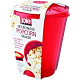 Joie Microwave Popcorn Popper Maker, Silicone, Makes 4-Cups