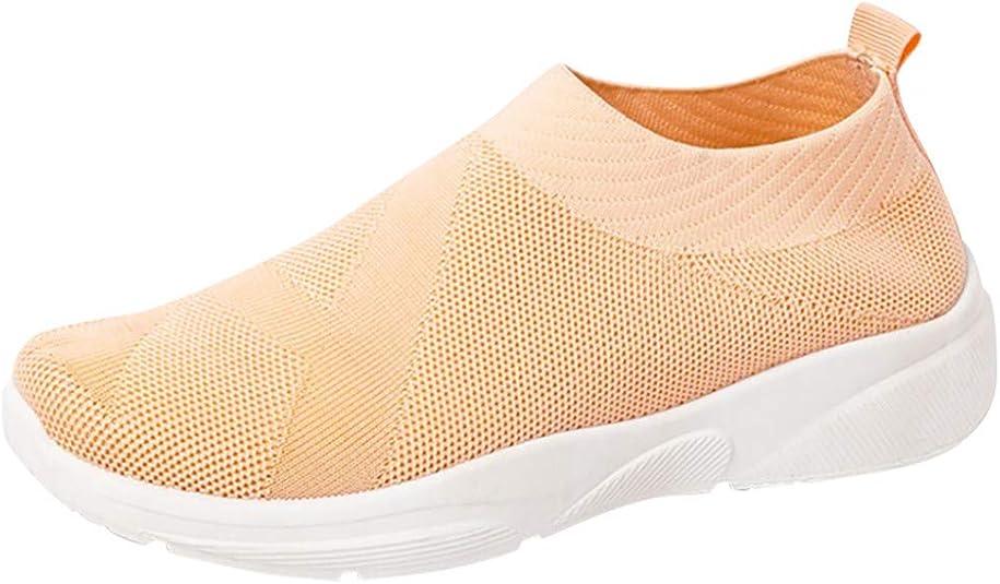 Zapatillas Deportivas para Mujer Verano 2019 PAOLIAN Zapatos de Deporte Running Gimnasia Zapatillas Aire Libre Fitness Zapatos Calcetines Casual Mujer Cómodos Plano 36-41EU: Amazon.es: Zapatos y complementos