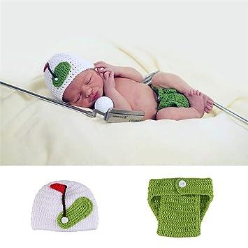 Amazon.com: Disfraz de bebé recién nacido con ganchillo de ...