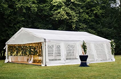 Amazon Com Decors A 16 X 32 Heavy Duty Carport Outdoor Wedding