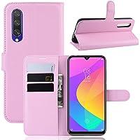 Capa Capinha Carteira 360 Para Xiaomi Mi A3 e CC9e Case Couro Flip Wallet - Danet (Rosa)