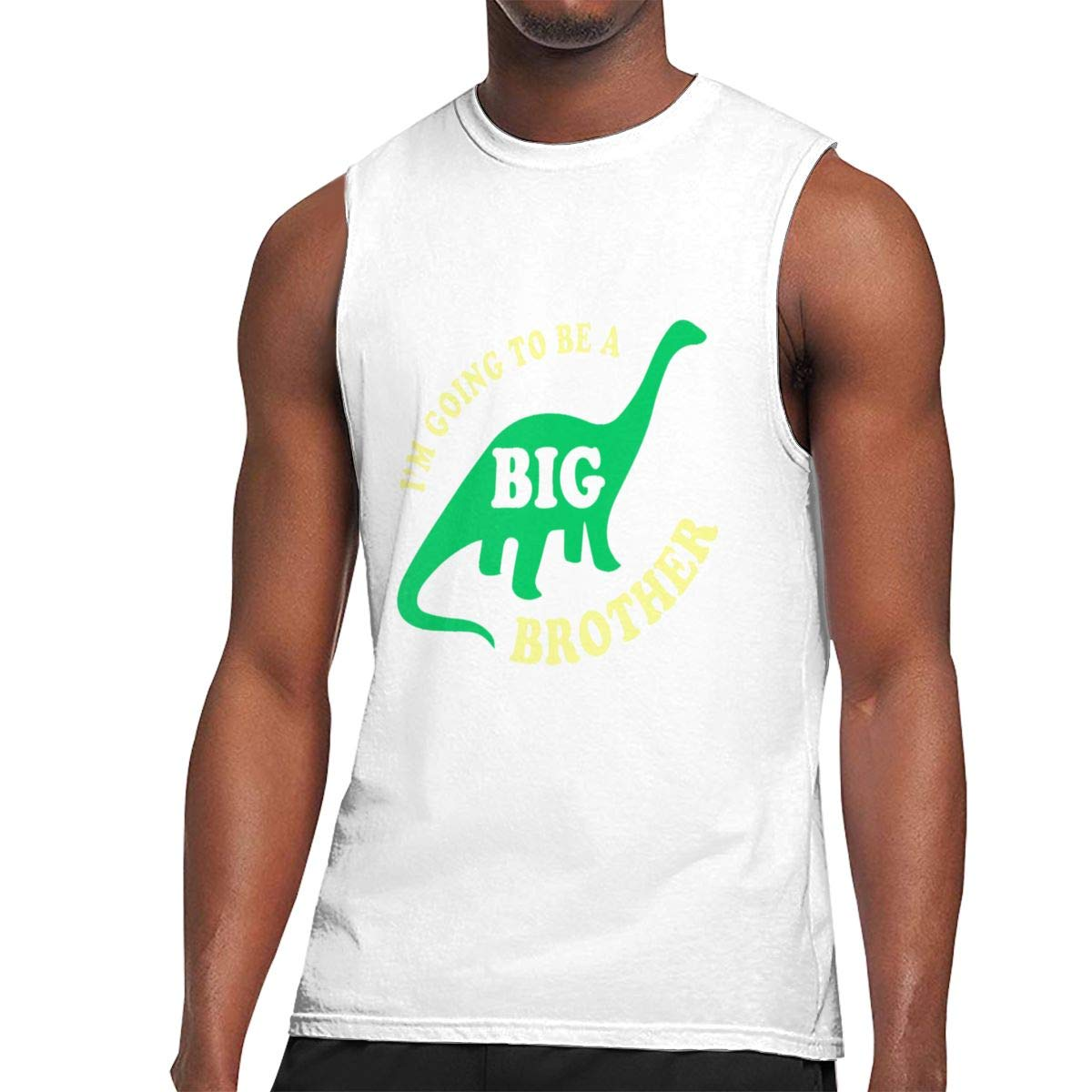 Seuriamin I M Going To Be A Big Brother S Funny Outdoor Sleeveless Muscle Short Sleeve Shi