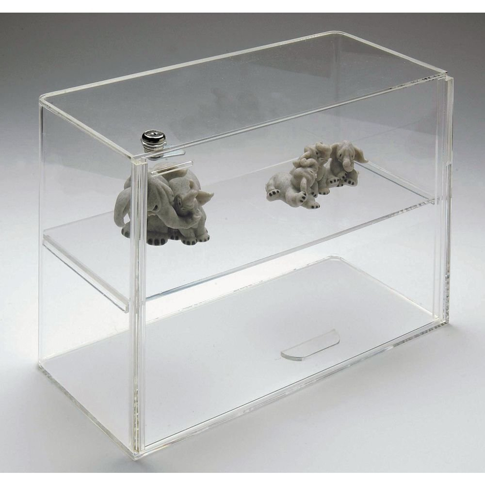 Countertop Acrylic Showcase with Lock, 16 x 7 x 12 by Retail Resource (Image #1)