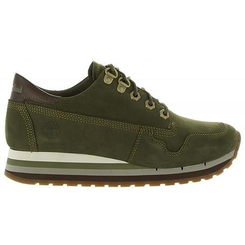 Zapatos de Niño y Niña y Mujer Timberland A1J35 Olive Night