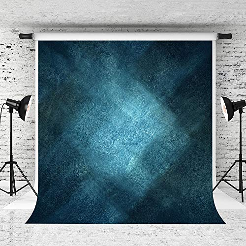 - Kate 5x7ft Deep Blue Portrait Photography Backdrop Blue Abstract Old Master Background for Person Portrait Photography