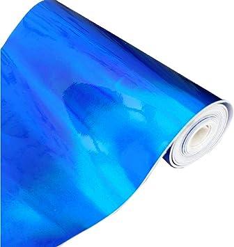 Amazon.com: ZAIONE - Rollo de vinilo holograma de 8.3 in x ...
