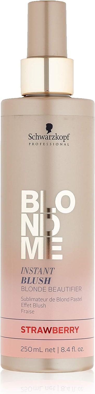 Schwarzkopf Professional Blondme Instant Blush Strawberry Tratamiento Capilar - 250 ml