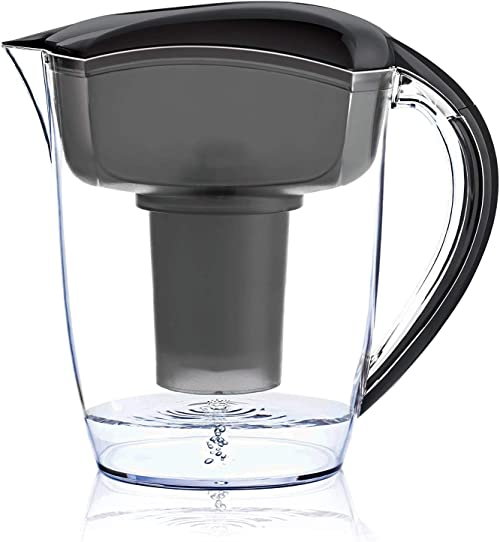 Santevia Water Systems Alkaline Water Pitcher (Black)