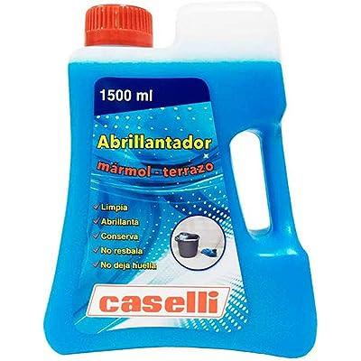 ABRILLANTADOR CASELLI MARMOL Y TERRAZO Limpia, ABRILLANTA, CONSERVA, NO RESBALA Y NO Deja Huellas