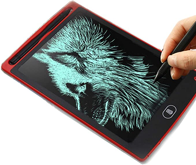 Color : Blue, Size : 8.5 inches LCD Writing Tablet 8.5 Inch LCD Tablet Childrens Drawing Board Graffiti Board Blackboard Electronic Drawing Board Drawing Tablet for Kids