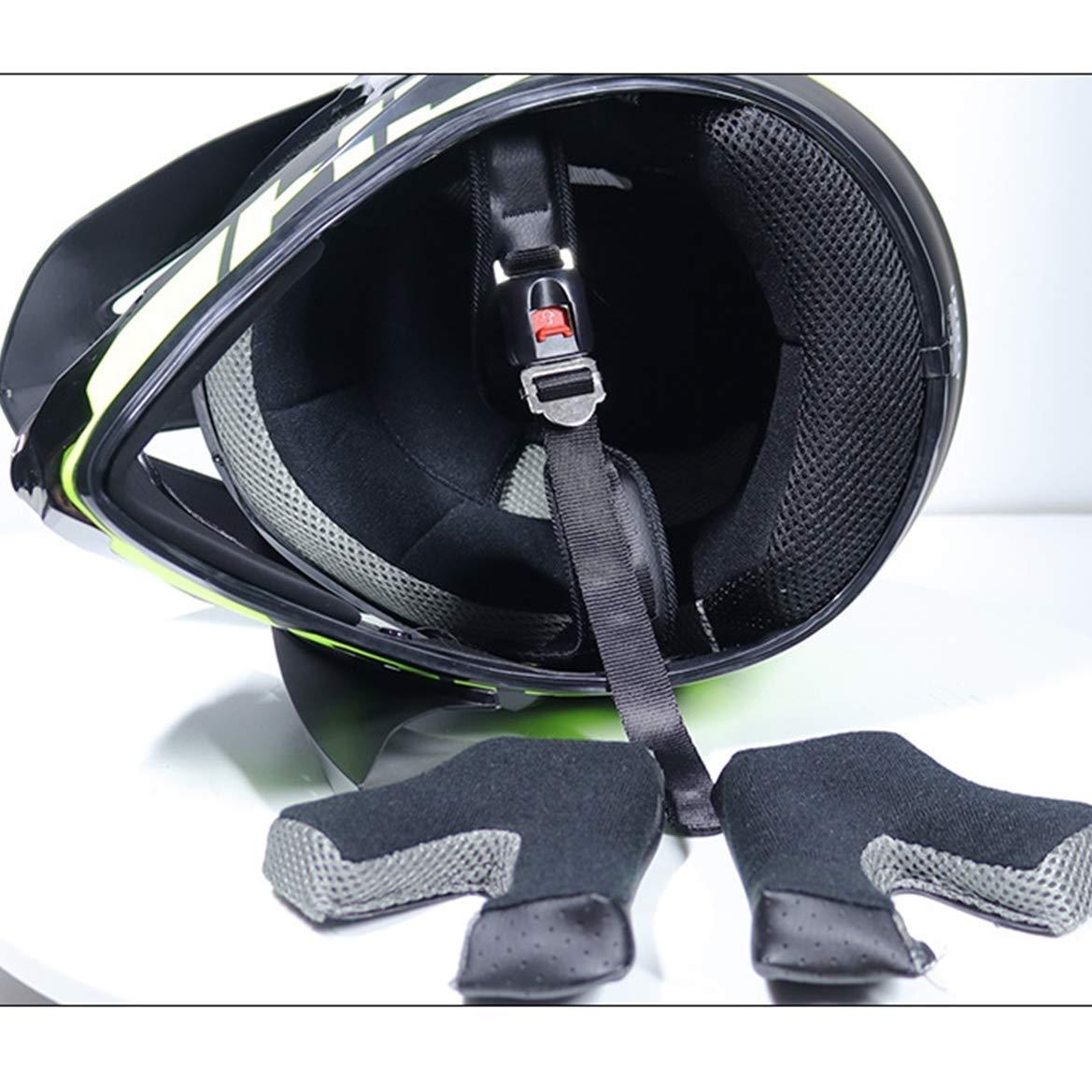 LSLVKEN Casque de Motocross Kit Professionnel Casque de Moto Adultes Off-Road Cross Road Race Casque De Route Unisexe Int/éGral Y Compris des Lunettes//des Gants//Masques,Beige,S