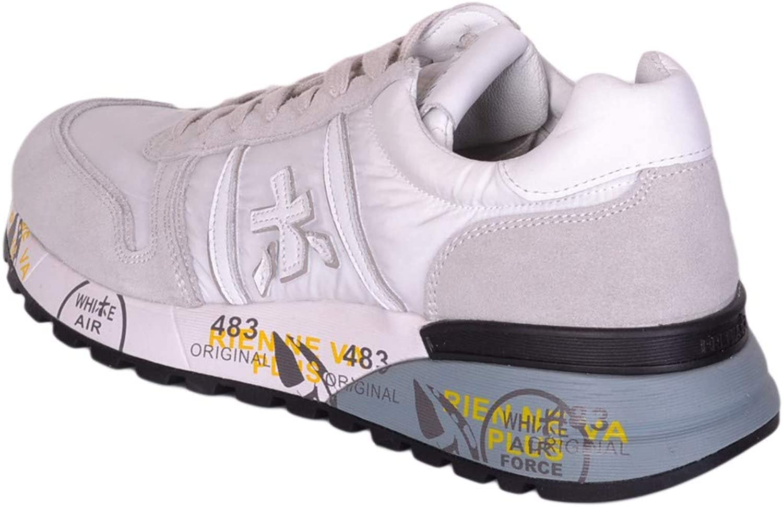 Premiata White Lander 3827 Sneaker