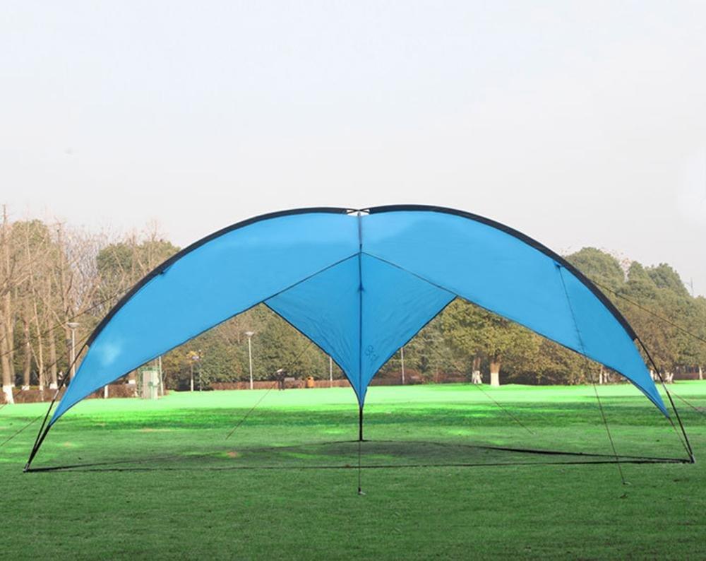 YHKQS-KQS Canopy Tarp Outdoor Camping Zelt Sonnenschutz UV Schutz Wasserdicht Übergroße Markise / Wandern Schutz 480  480  200cm