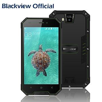 Telefonos Resistentes, Blackview BV4000 Pro Móvils Antigolpes 4.7 ...
