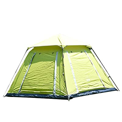 Grande tente extérieure extérieure Tentes automatiques carrées Imperméable, crème solaire, tentes de camping
