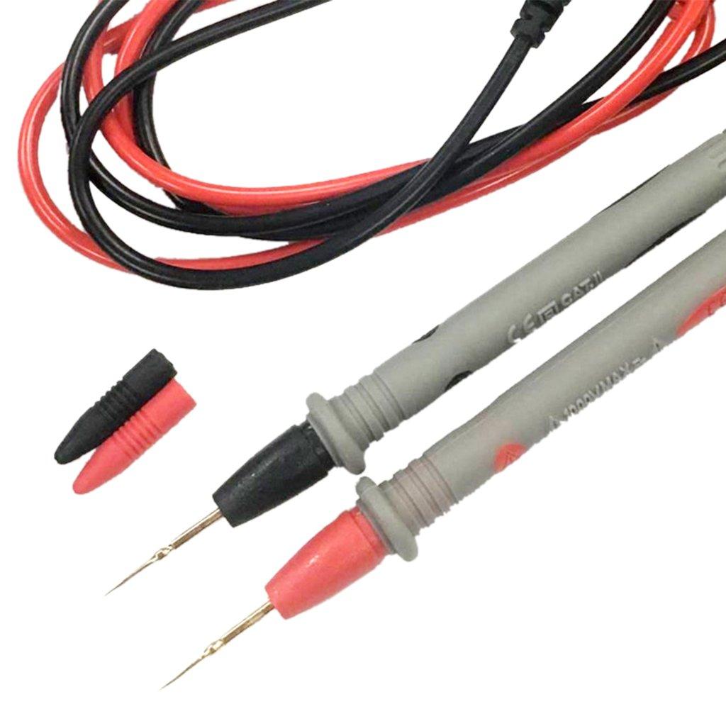 Almencla 1000 V 20A Super D/ünne Spitze Nadel Multi Meter Pr/üfspitze Digital Multi