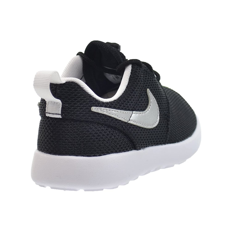 0d1e38b2fff2 ... Amazon.com Nike Roshe One Preschool Kids Shoes BlackMetallic Silver-White  749427-021 .