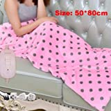 Electric Blankets, Electric Heating pad Warm Heating Blanket Shawl can Move Home Office Warm Winter Blanket Bed Heater…