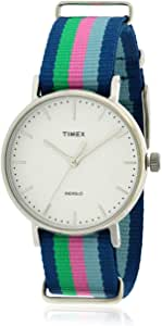 Timex Watch for Unisex with Fabric Strap, Analog, TW2P91700