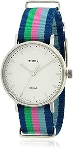 تي ميكس ساعة يد للجنسين، انالوج بعقارب، قماش، TW2P91700