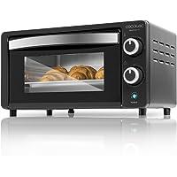 Cecotec Bake&Toast 450 Horno Eléctrico de Sobremesa, Capacidad de 10 Litros, 1000 W Negro
