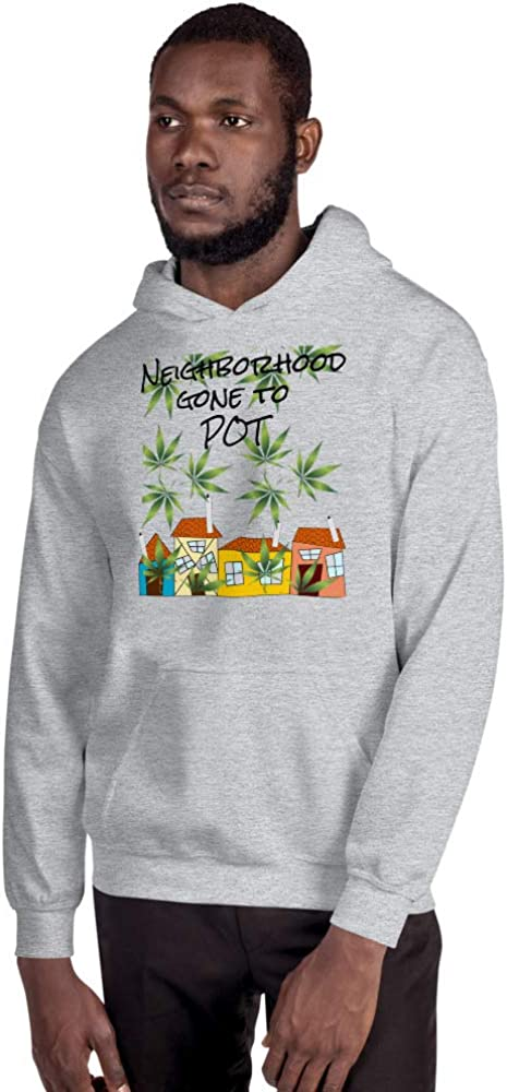 House Gone to Pot 255 Gotham Place Unisex Hoodie