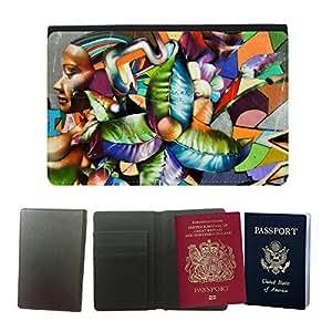 Passeport Voyage Couverture Protector // V00002240 Francisco urbano de la pintada en San // Universal passport leather cover