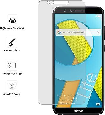 Tumundosmartphone Protector Cristal Templado para Huawei Honor 9 ...