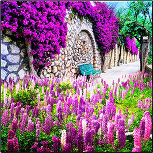 5D Diamond Mosaic Embroidery Lavender Painting Craft DIY Home Decor - 2