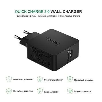 Chuwi Wall Charger Cargador rápido 3.0 Fast Charger Cargador ...